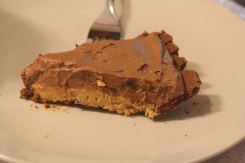 Peanut Butter Mouse Pie