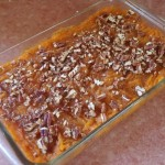 Sweet Potato and Pecan Casserole