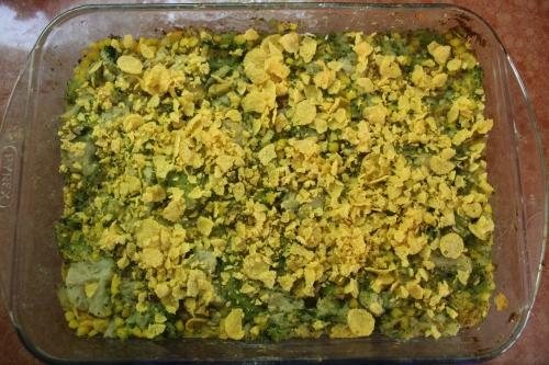 Broccoli Cauliflower Souffle