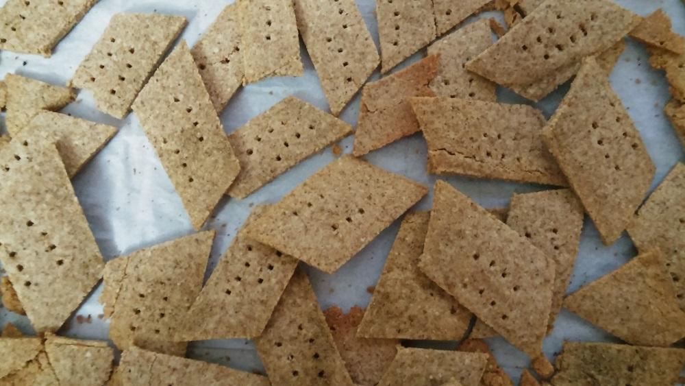 Passover Almond Crackers